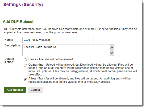 Content Scanning Anti-Virus and DLP