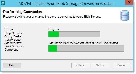 MOVEit Transfer and Azure Blob Storage