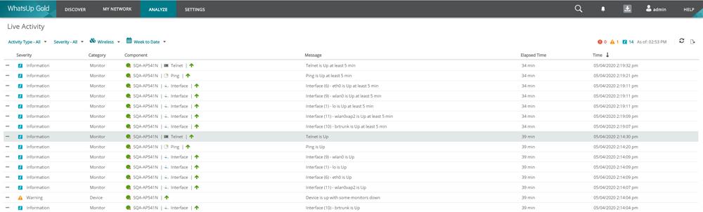 WUG20.0-RN-LiveActivity_Report